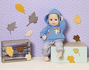 Zapf Creation 870839Dolly Moda Deportes de Outfit Azul 36cm, Gris