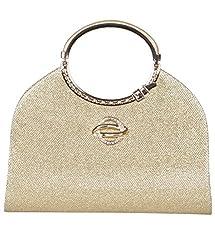 ADISA CL023 gold women clutch