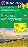 Riesengebirge / Krkonose: Wanderkarte mit Naturführer tschechisch /deutsch, Radrouten und Loipen. GPS-genau. 1:50000 (KOMPASS-Wanderkarten, Band 2087) -