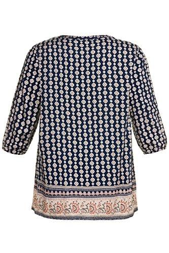 Ulla Popken Femme Grandes Tailles Tunique 713891 Multicolore