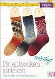Woolly Hugs Patentsocken stricken: Tolle Muster mit Year-Socks-Garn. Grundkurs Socken stricken von Veronika Hug.