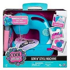 Idea Regalo - Cool Maker 6037849 - Macchina da Cucire Sew 'N Style