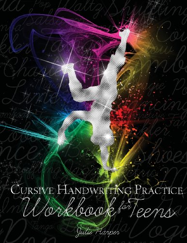 Cursive Handwriting Practice Workbook for Teens