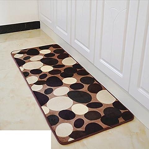 Fußmatten/Pratunam Pad/Bad und Küche, Badezimmertür Anti-Rutsch Matten in der Halle-A 40x120cm(16x47inch)