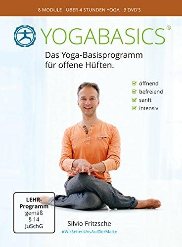 YOGABASICS: Yoga für offene Hüften (3 DVDs inkl. Online-Zugang) -
