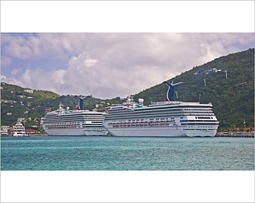 photographic-print-of-carnival-cruise-line-ships-truimph-and-gloryaquot