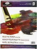 Royal Brush 270921 Paleta desechable de papel del coj-n 8,25 pulg x 11,5 pulg -40 Hojas