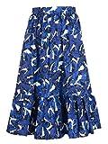 MSGM Damen 2441Mdd3618413101 Blau Baumwolle Rock