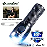 Best Tactical Led Flashlights - Theshy Flashlight Mini USB Rechargeable XPE Tactical Military Review