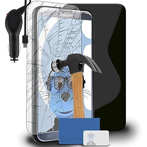 iTALKonline Samsung N7100 Galaxy Note 2 SCH-I605 SCH-R950 SPH-L900 Nero