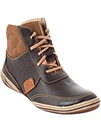 tZaro Choco Wall Genuine Leather Boots