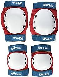 TSG Basic - Set de protecciones, multicolor, talla S
