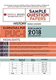 Oswaal Karnataka PUE Sample Question Papers For PUC I History (March 2018 Exam)