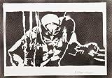 Wolverine X-Men Handmade Street Art - Artwork - Poster
