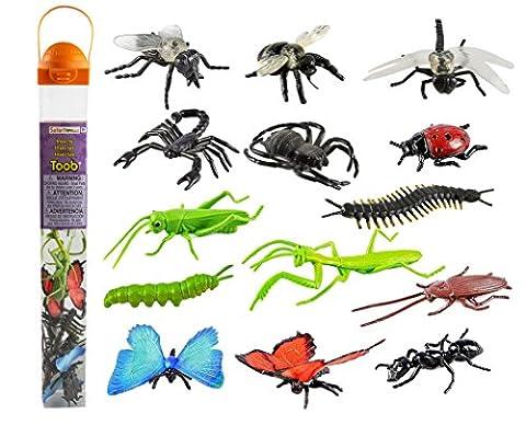 Safari Ltd. Insectes TOOB® 695304- collection de peints à la main
