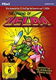 The Legend of Zelda / Die komplette 13-teilige Kultserie (Pidax Animation) [2 DVDs]