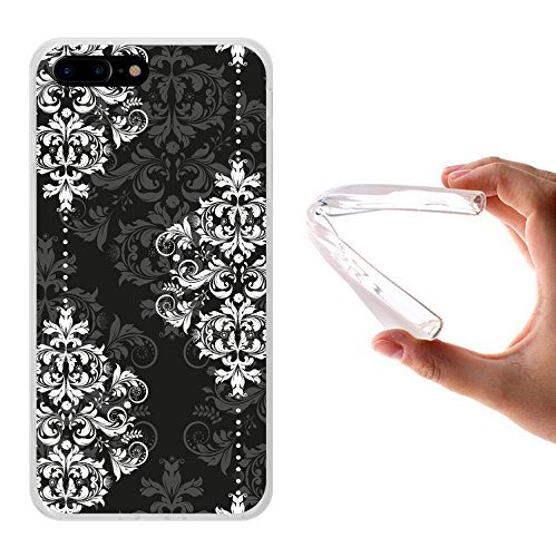 iPhone 7 Plus Hülle, WoowCase Handyhülle Silikon für [ iPhone 7 Plus ] Hawaii Big Waves Surf Rider Handytasche Handy Cover Case Schutzhülle Flexible TPU - Transparent Housse Gel iPhone 7 Plus Transparent D0554