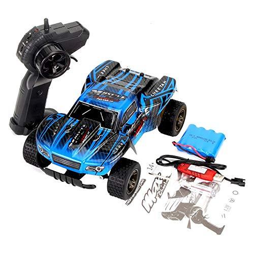 CUEYU RC Fernbedienung Auto,Rock Geländewagen Drift Crawler Truck 2,4 Ghz 2WD Geschwindigkeit 1:20 Fernbedienung Buggy Hobby Auto, Kinder und Erwachsene (E)