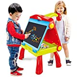 The Magic Toy Shop 4 in 1 Kids Folding Drawing Board & Projector