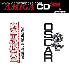 OSCAR + DIGGERS AMIGA CD32