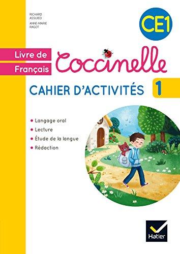 Coccinelle Français CE1 éd. 2016 - Cahier d'activités 1 par Anne-Marie Ragot