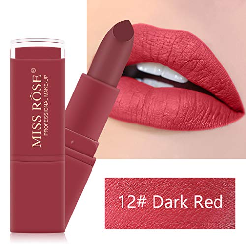 TTLOVE Matte Red Tube Mouth Red Brick Rot Tante Lipstick Red Lippenstift In Klassischem Rot FüR Jeden Teint - Langanhaltender, Feuchtigkeitsspendender, Roter Lippenstift Mit Starker Deckkraft -