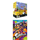 Pack Wii U 32 Go noire + Super Mario Maker + Splatoon