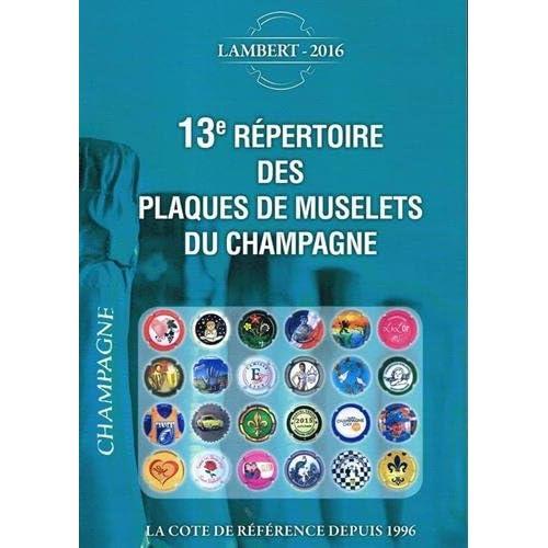 13e répertoire des plaques de muselets du champagne