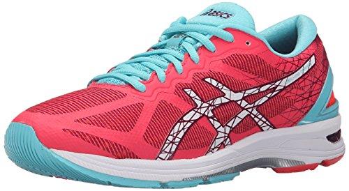 Asics Womens Gel-DS Trainer 21 Running Shoe Diva Pink/White/Turquoise