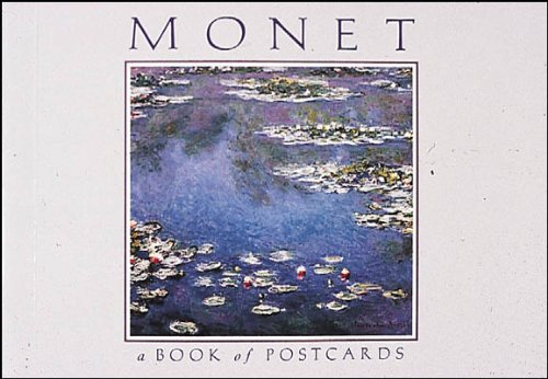 Monet Book of Postcards A826 (Postcard Books)