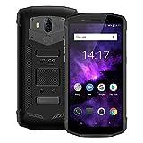 Blackview BV5800 Pro 4G Outdoor Handy mit IP68 und Staubdicht, 5.5 Zoll 18: 9 Bildschirm, Android 8.1 2GB/16GB Quad Core, 5580mAh Schnellladung, Dual Rükkameras (Schwarz) Drahtlose Ladung unterstüzt