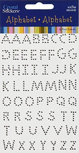 Crystal Alphabet (Crystal Stickers Alphabet 58/Pkg-Clear)