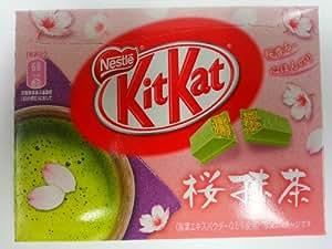 Japanese Kit Kat Green Tea Sakura Mini 12.3 G