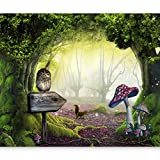 murando® Fototapete 350x245 cm - Vlies Tapete - Moderne Wanddeko - Design Tapete - Wandtapete - Wand Dekoration - Abstrakt Natur 10110903-40
