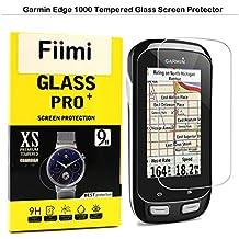 Garmin Edge 520Protector de pantalla–Fiimi templado LCD de cristal protector de pantalla para Garmin borde 520,9H dureza, 0,3mm de espesor, fabricado en cristal