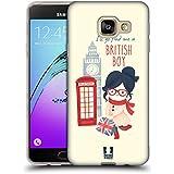 Head Case Designs Trouvez Un Garçon Britannique Je Rêve Londres Étui Coque en Gel molle pour Samsung Galaxy A3 (2016)