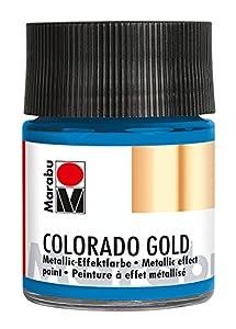 Marabu 12640005792Efecto Color, Metálico de Color Azul