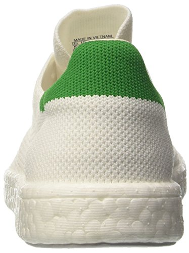 adidas Stan Smith Boost Primeknit, Baskets Basses Mixte Adulte Blanc (Footwear White/Footwear White/Green)