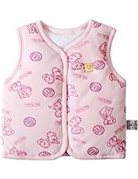 monvecle bebé algodón cálido chalecos de Unisex infantil para niños acolchado chaleco