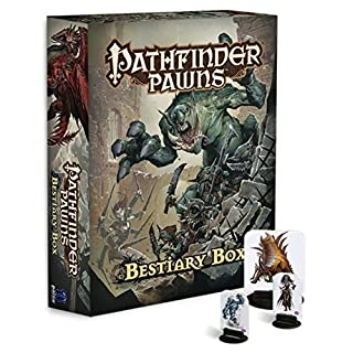 Paizo Publishing PAI1001 Pathfinder Pawns: Bestiary Box, Multicoloured