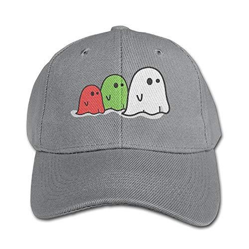 Ghosts Halloween Pure Color Baseball Cap Cotton Adjustable Kid Boys Girls Hat