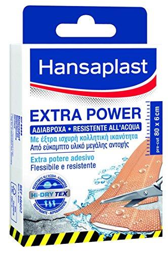 Hansaplast Striscia Extra Power 8Pz 10X6Cm.