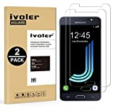 [Lot de 2] Samsung Galaxy J5 2016 Protection écran, VGUARD Film Protection d'écran en Verre Trempé Glass Screen Protector Vitre Tempered pour Samsung Galaxy J5 2016 - Dureté 9H, Ultra-mince 0.30 mm, 2.5D Bords Arrondis- Anti-rayure, Anti-traces de Doigt