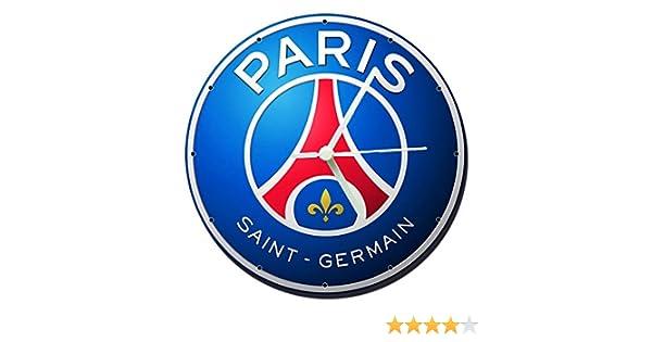 MasTazas PSG Par/ís Saint Germain Football Club Horloge Murale Wall Clock 20cm