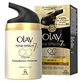 Olay Total Effects 7 en 1 CC Cream Anti-Edad Correctora de Tono Medio A Oscuro SPF 15 - 50 ml