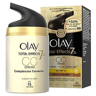 Olay Total Effects 7 en 1 CC Cream Anti-Edad Correctora de Tono Medio A Oscuro SPF15 – 50ml