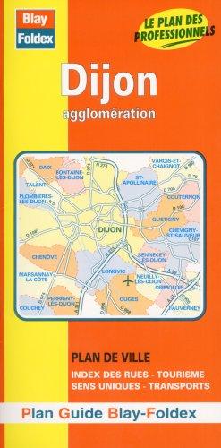 Plan de ville : Dijon (avec un index)