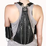 Bag Steam Punk Retro Rock Gothic Goth Shoulder Waist Bags Packs Victorian Style for Women Men + leg Thigh Holster Bag