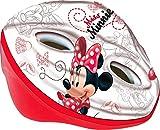 Disney Mädchen Minnie Mouse Fahrradhelm für Kinder, Rot/Weiß, M, 35620