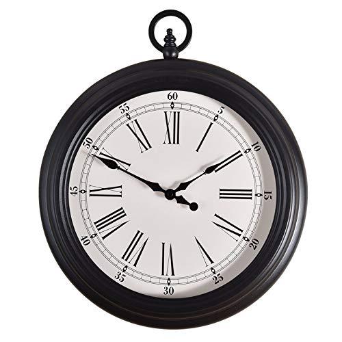 LIUXIAOJIE Kreative Quarzuhren, Wohnzimmerwanduhr, europäische Retro-Wandkarten, amerikanische Taschenuhren, einfache Moderne Uhr